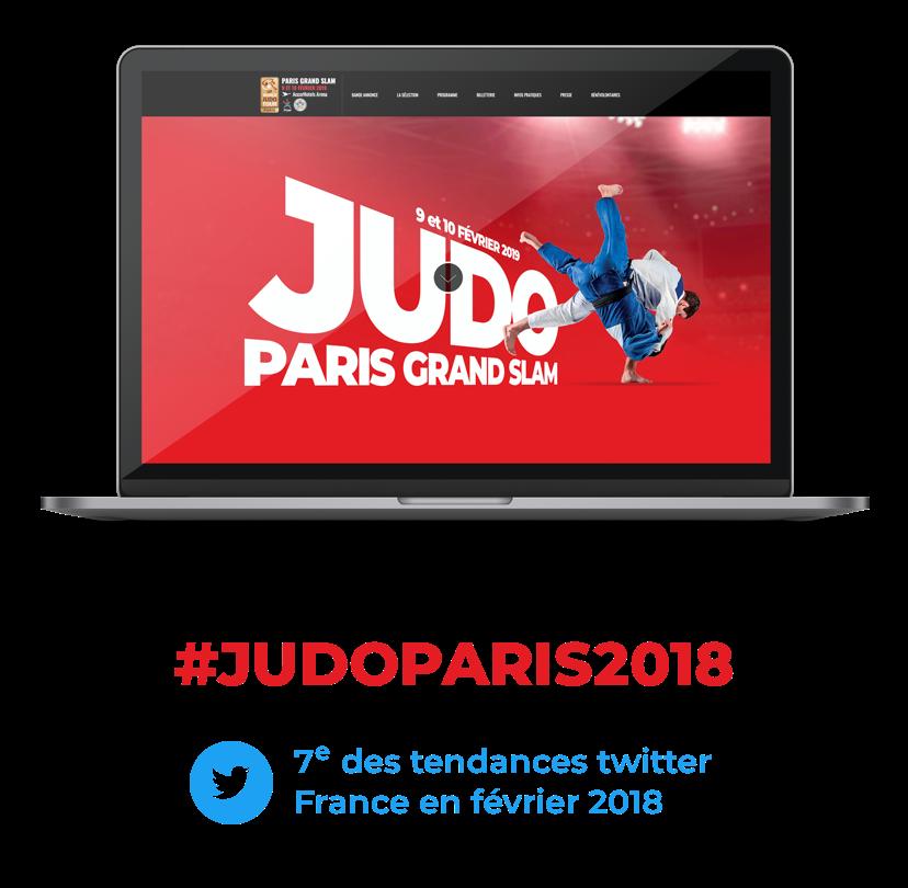 site web evenement judo