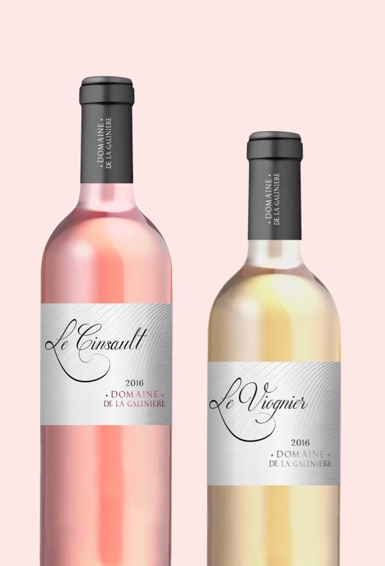 Bouteille Vin Caveau la Galiniere