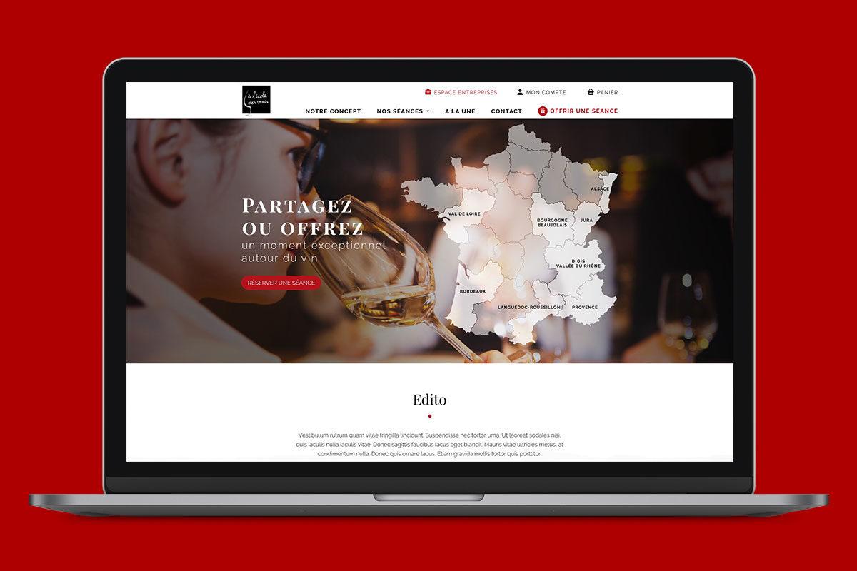 Site web ecole des vins