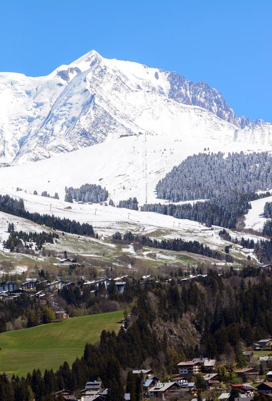 montagne ski megeve
