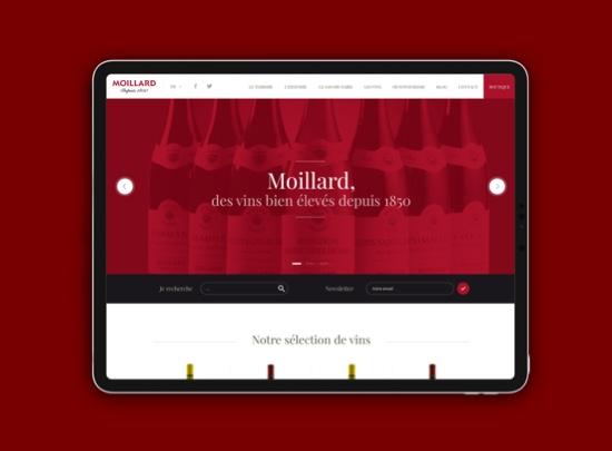tablette site web moillard