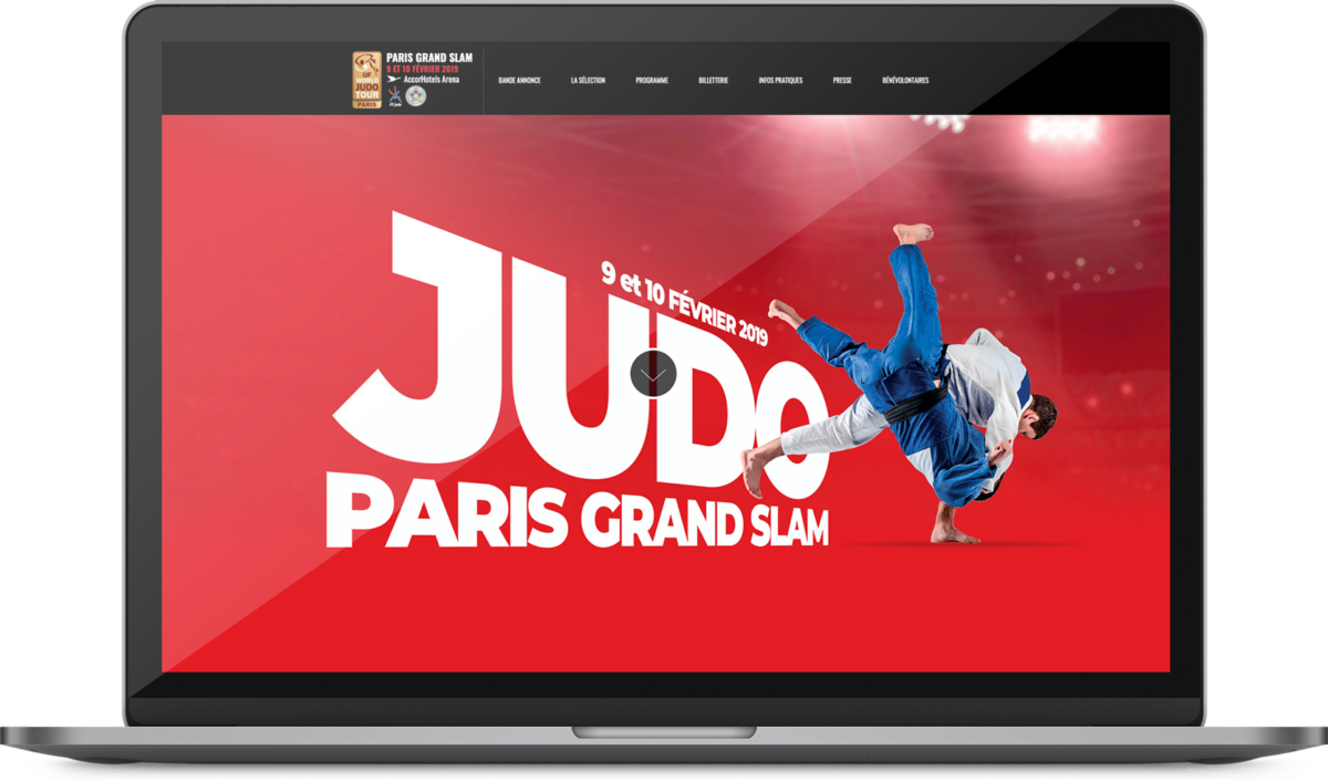 site internet evenement judo