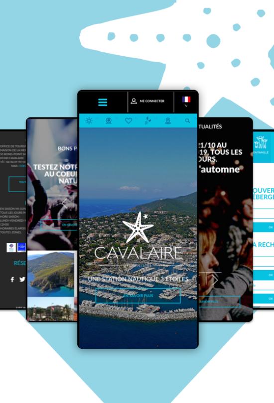 site web cavalaire sur mer