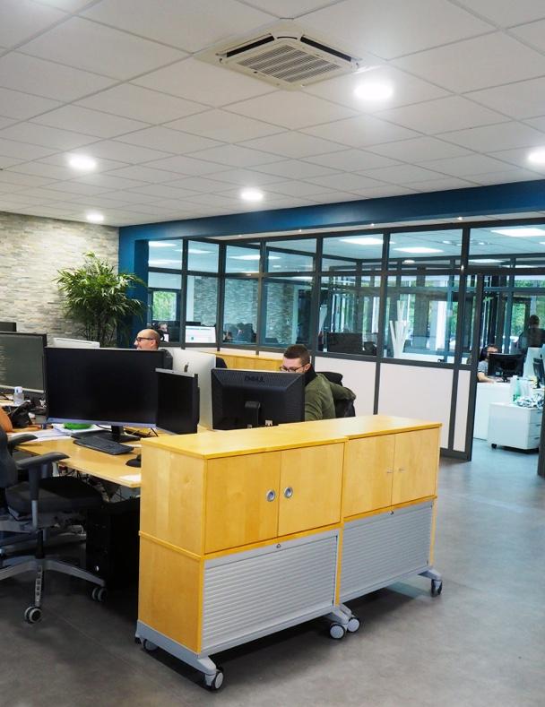 interieur bureaux Koredge et developeurs