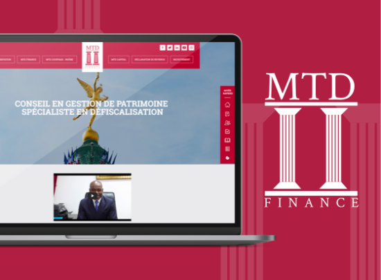 ordinateur site web mtd finance