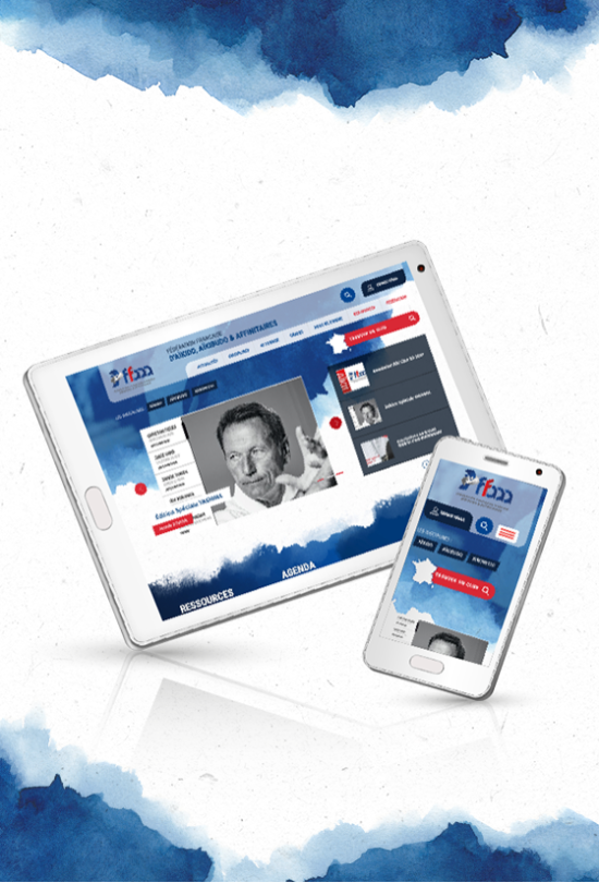 tablette mobile site federation francaise aikido