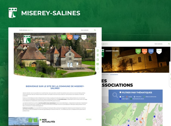 Page d accueil site miserey salines