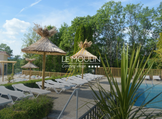 terrasse camping le moulin