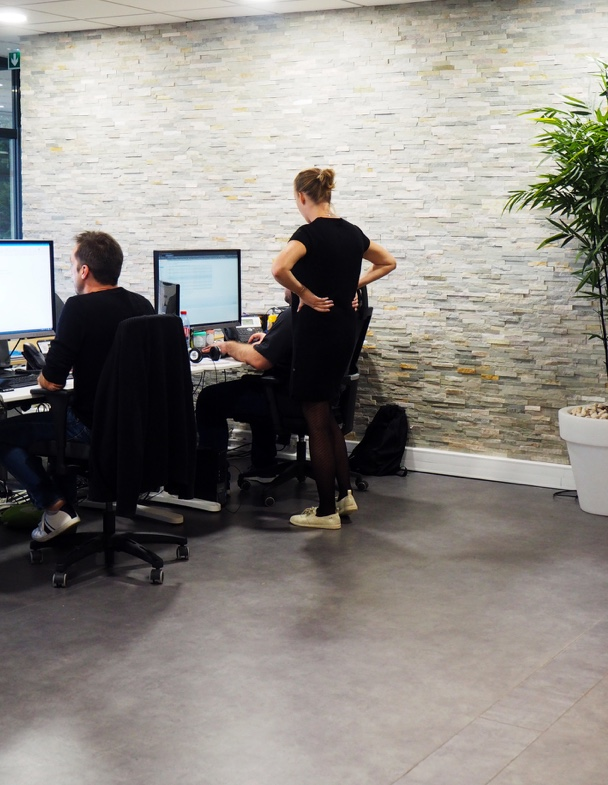 developpeurs koredge au travail