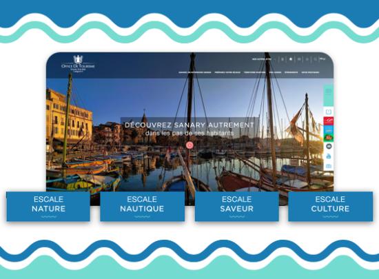 page web sanary sur mer