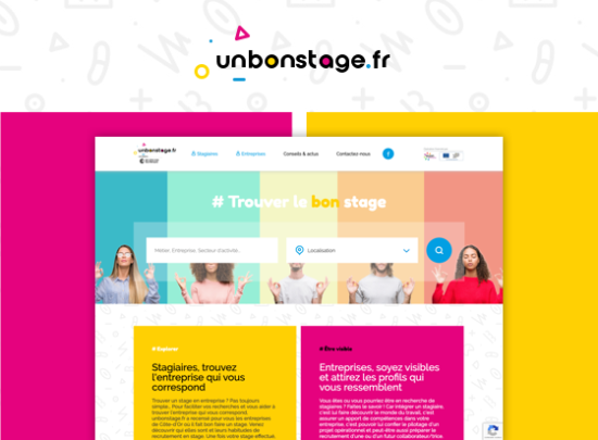 site web un bon stage