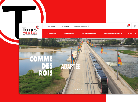 creation site web tours val de loire