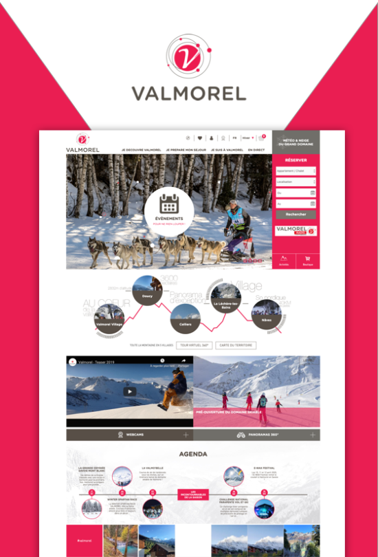 site institutionnel valmorel