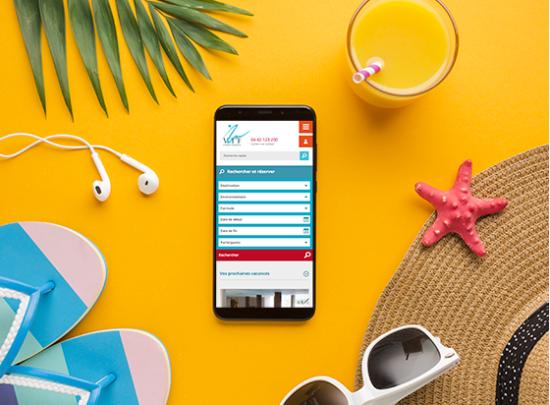 boutique en ligne mobile VTF