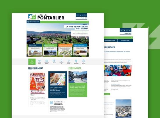 site web mairie Pontarlier