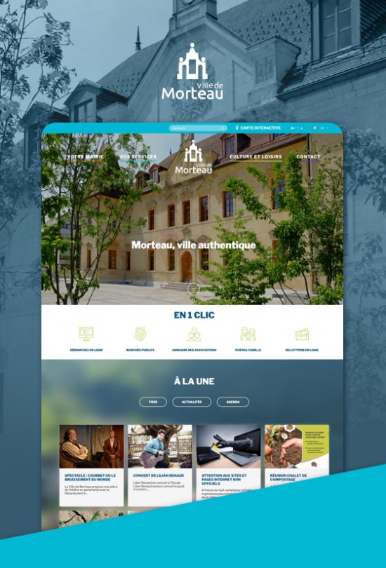 site web mairie de morteau