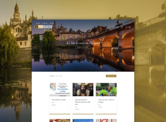 page accueil office tourisme grand perigueux