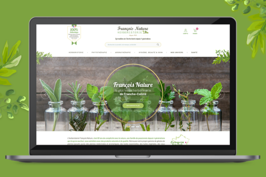 site e-commerce francois nature