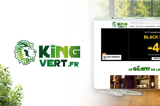 site e-commerce king vert